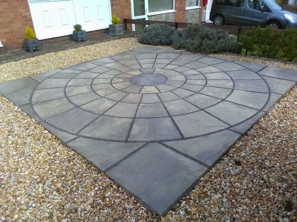 3.6m x 3.6m Rotunda Weathered Cream